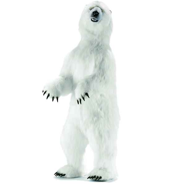 Anima - Peluche ours polaire dresse 350 cm -4554