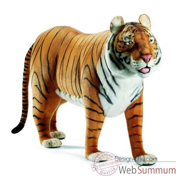 Anima - Peluche tigre brun à 4 pattes 160 cm dans Animaux
