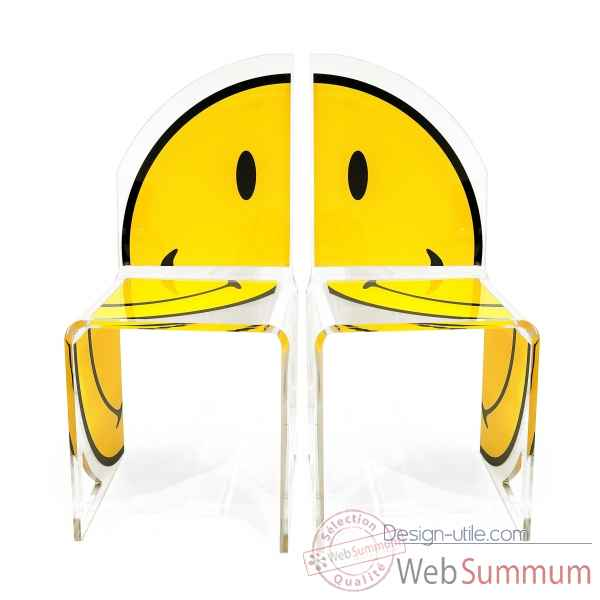 Chaise quarter smiley Acrila -Acrila73