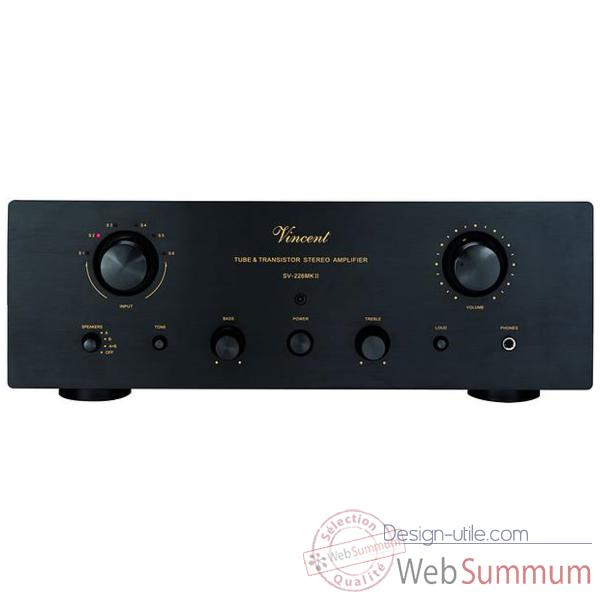 Amplificateur stereo integres Vincent SV-226 MKII Ampli int. Hybr. - Argent - 204182
