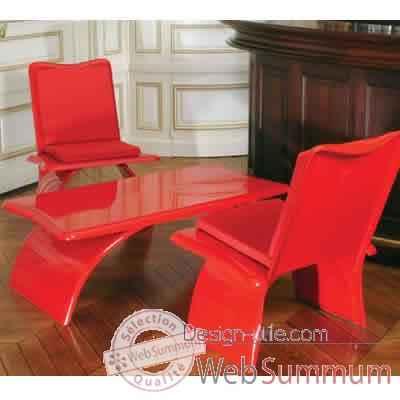 table basse design rouge art mely am14 de meuble terrasse design tendance. Black Bedroom Furniture Sets. Home Design Ideas
