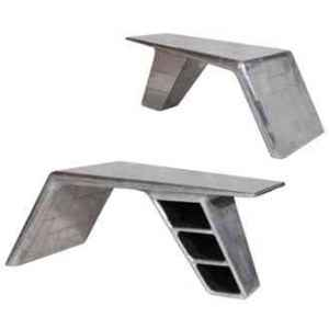 Table aviator avec couverture en alumium h 770 x 1950 x 1000 Arteinmotion TAV-AVI0032