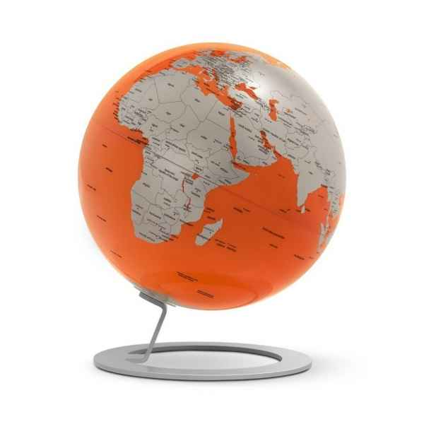 Globe iglobe orange diam 25 cm Atmosphere -0324IGMOIN0330C1
