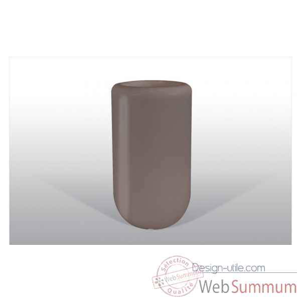 Pot fleu pill 70 cm marron Bloom -BLOOM51