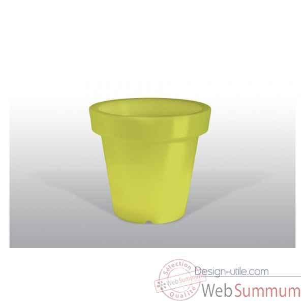 pot fleur lampe 100 cm jaune bloom bloom63 dans pot de fleurs lampe sur design utile. Black Bedroom Furniture Sets. Home Design Ideas