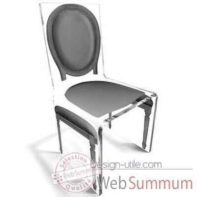 chaise aqua l16 original gris aitali photos design utile. Black Bedroom Furniture Sets. Home Design Ideas