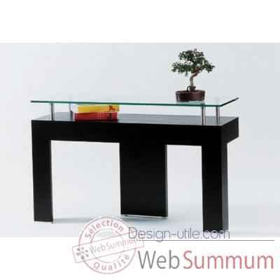 console marais avec plateau en mdf placage dans meuble console ... - Meubles Consoles Design