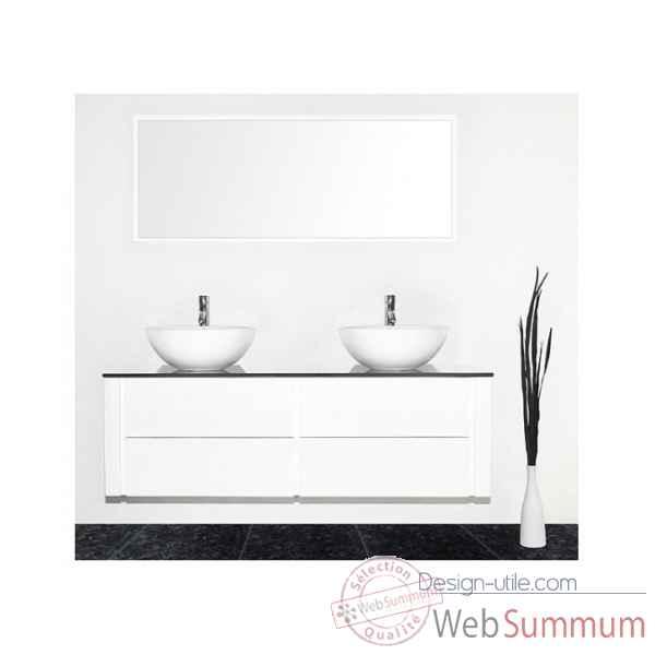 Delorm design dans meubles salle de bain delorm design sur - Meuble salle de bain noir et blanc ...