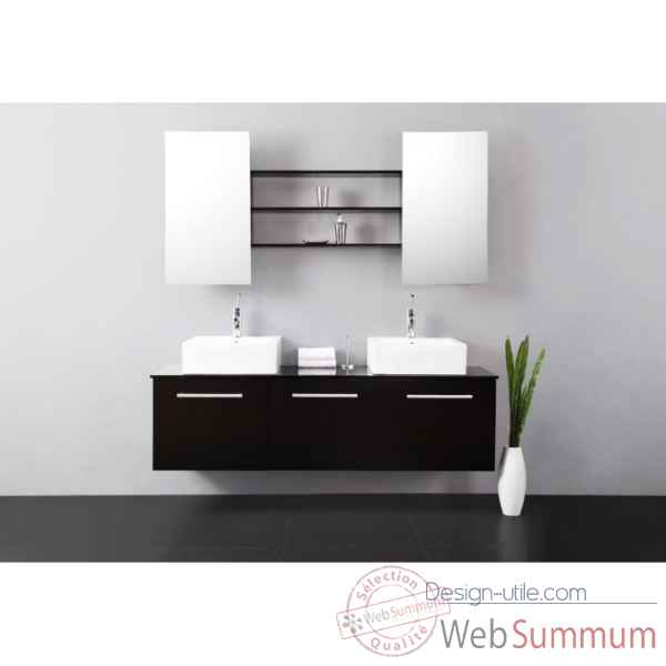 meuble de salle de bain tiga delorm design dans meuble salle de bain sur design utile. Black Bedroom Furniture Sets. Home Design Ideas