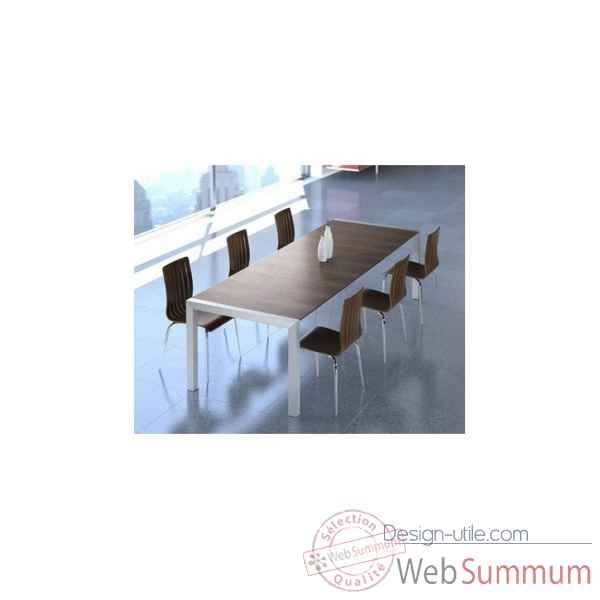 Table a manger ruup noyer Delorm Design