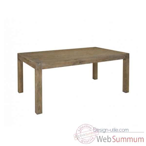 Table de repas collection vala 180x100x76cm Delorm Design