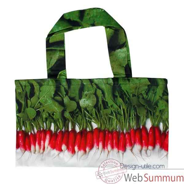 Maron Bouillie-Sac a course illustration radis.