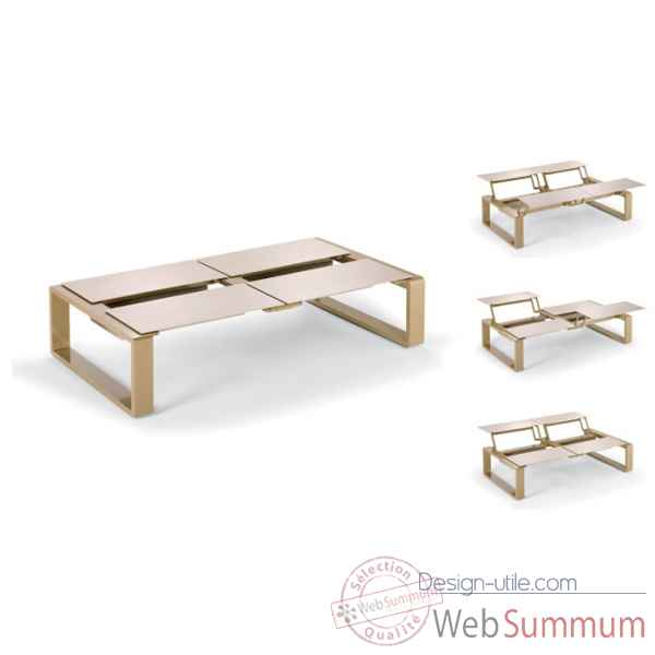Kama table modulable quattro Ego Paris -EM5QMT