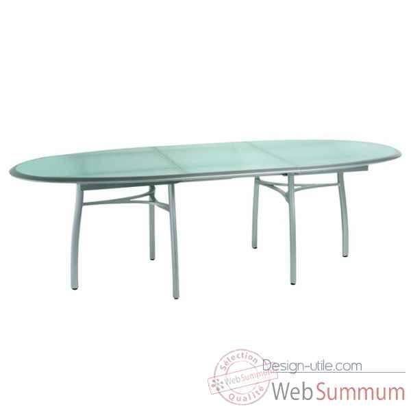 premi re table repas ovale avec allonge ego paris de design ego paris. Black Bedroom Furniture Sets. Home Design Ideas