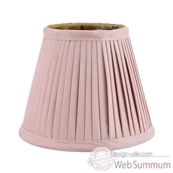 abat jour rose clair eichholtz lig07204 dans luminaire design sur design utile. Black Bedroom Furniture Sets. Home Design Ideas