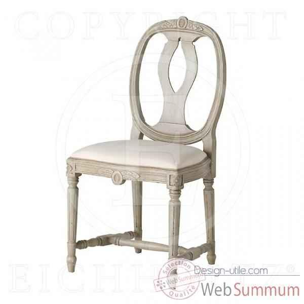 Eichholtz fauteuil rochebrune lin blanc et blanc su dois de meuble design hei - Fauteuil design suedois ...