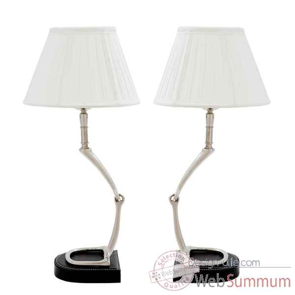 Lampe de table adorable set de 2 Eichholtz -07423