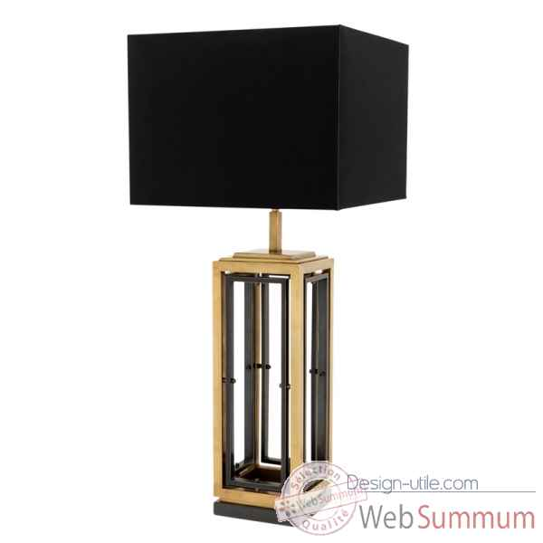 Lampe de table noirrock Eichholtz -09624