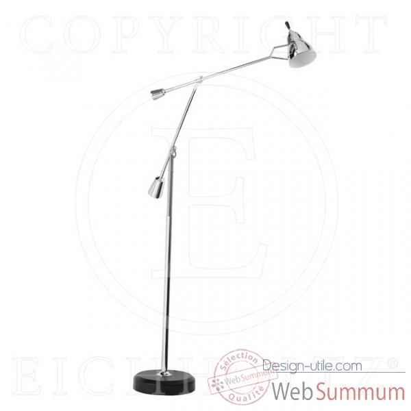 Eichholtz lampe floor fairfax nickel -lig05669