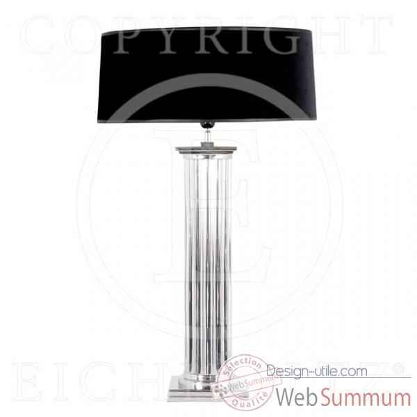 Eichholtz lampe manhattan nickel -lig05196