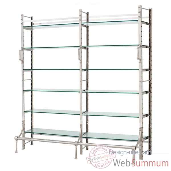 Meuble etagere upper beverly double Eichholtz -CAB07189