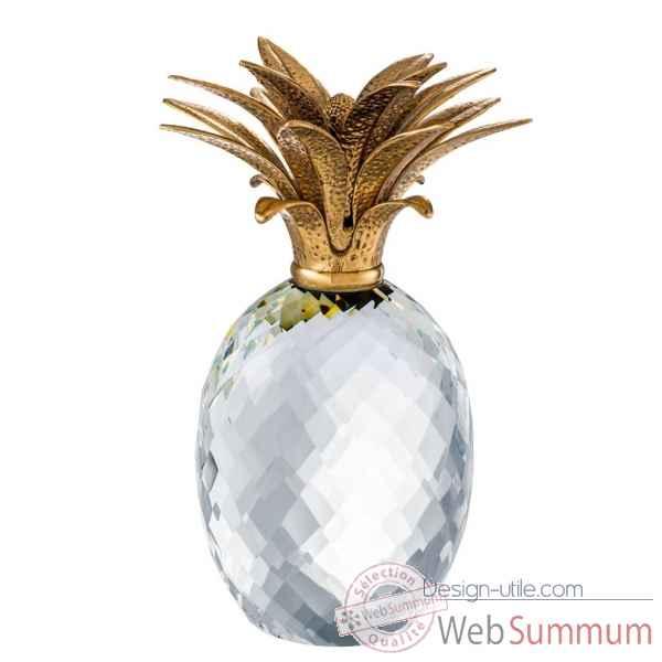 Objet de d coration ananas eichholtz 110806 dans for Objet deco ananas