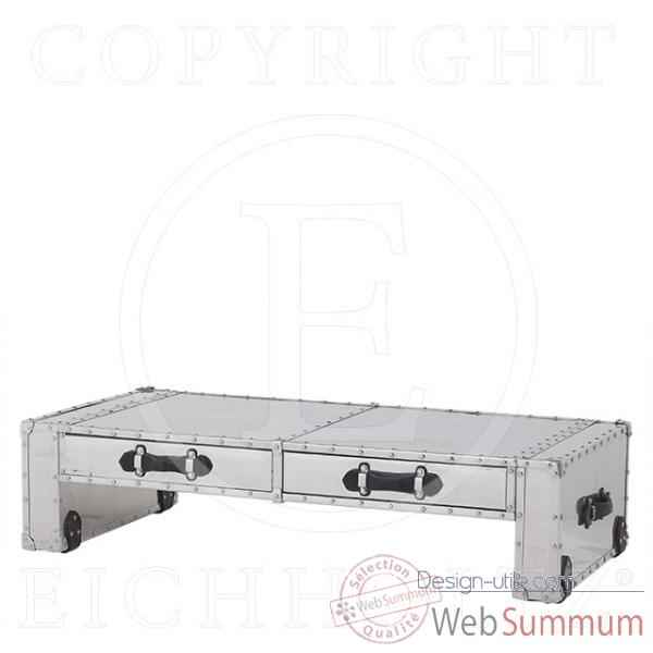 Eichholtz table basse catalina aluminium -tbl05956