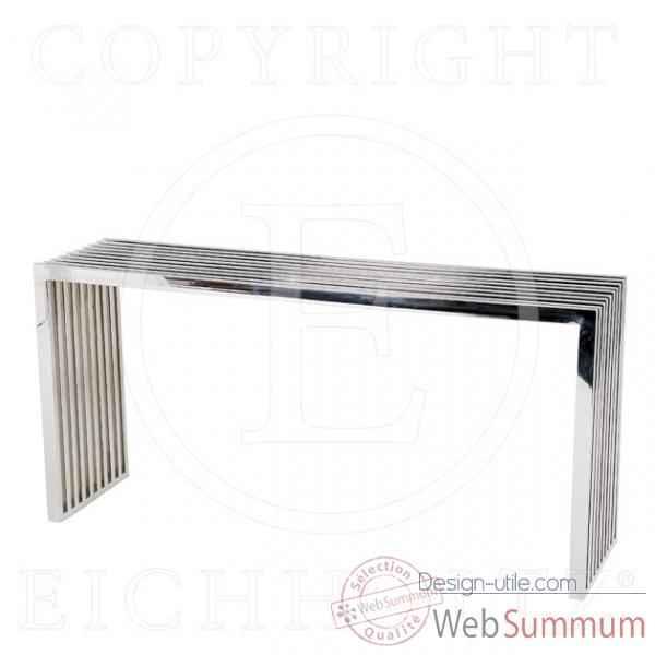 table basse le dauphin 95 cm en bois de rauli verre. Black Bedroom Furniture Sets. Home Design Ideas