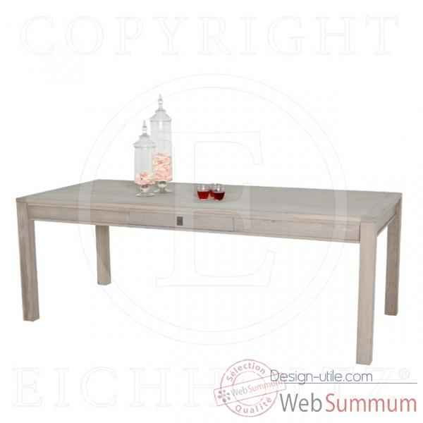 Eichholtz table a manger  chene rustique -tbl04632