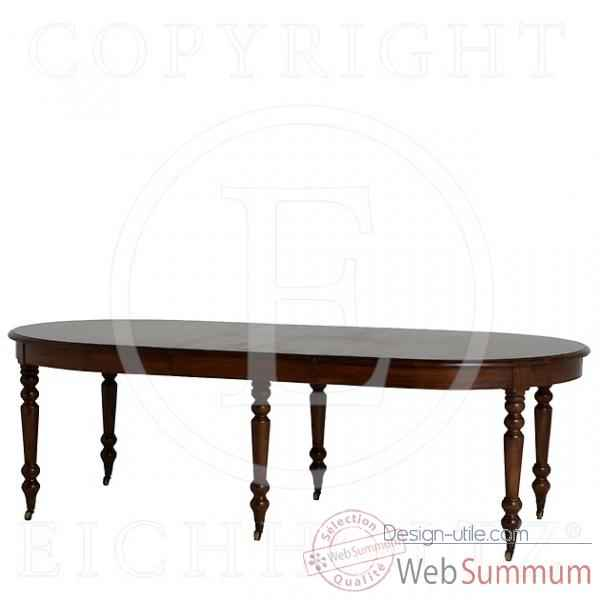 Eichholtz table a manger portman extension chene finish -tbl05840