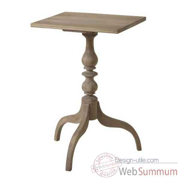 Eichholtz table washingtown chene rustique -tbl06442