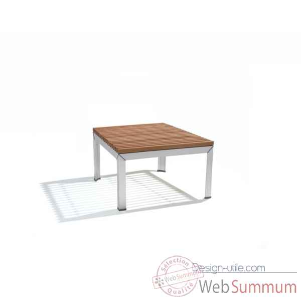 Table basse extempore, carree 135, fscpur Extremis -ETV135-45 FSC