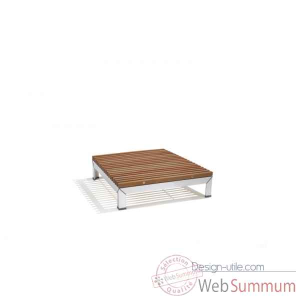 Table basse plus extempore, carree 80, fscpur Extremis -ETV080-23 FSC