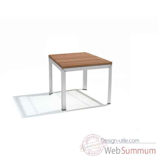 Table extempore standard, carree 135, fscpur Extremis -ETV135-75 FSC