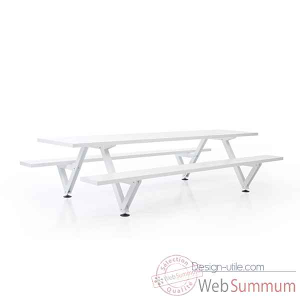 Table picnic marina largeur 385cm Extremis -MPT5W0385