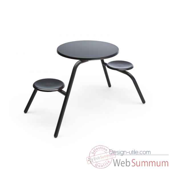 Table Virus 2 places interieur Extremis -virus-2pl-int