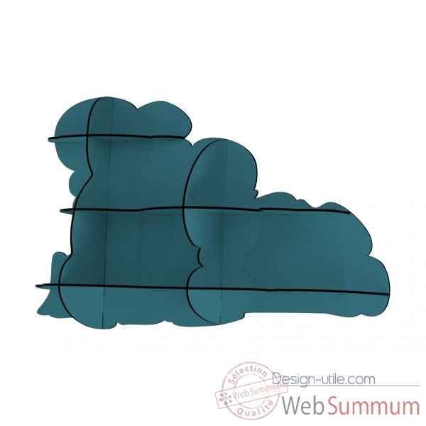 etag re murale nuage nimbus bleu ibride dans mobilier de. Black Bedroom Furniture Sets. Home Design Ideas