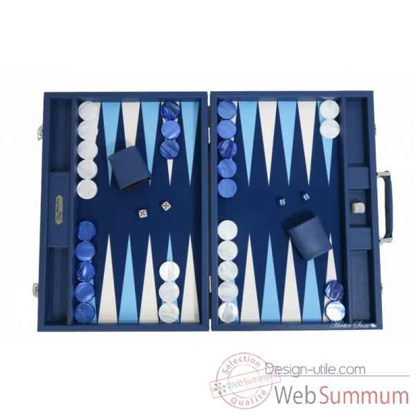 Backgammon basile toile buffle competition nuit -B620-nu