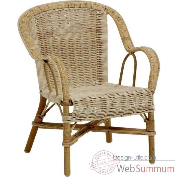 Ensemble 2 fauteuils enfant Grand Pere - naturel KOK 975