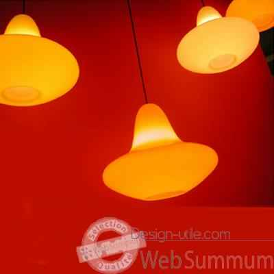 Luminaire suspension Sunday Jaune Slide - SD SUN060