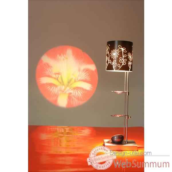 Lampe de table projectrice d'image Designheure Scope Benedicte -msbe