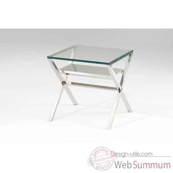 Console marais en verre tremp dans meuble console design - Bout de verre dans le pied ...