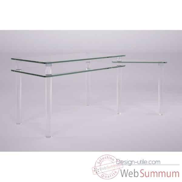 meuble design plexi et verre marais international sur. Black Bedroom Furniture Sets. Home Design Ideas