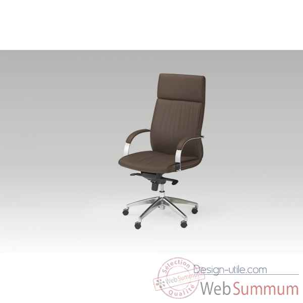 Fauteuil de bureau marron Marais International -SB811C