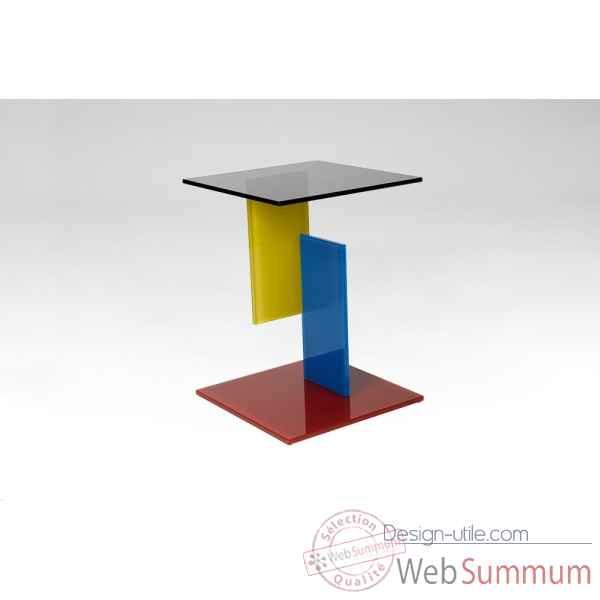 gu ridon en verre color marais international koloris de meuble design marais. Black Bedroom Furniture Sets. Home Design Ideas