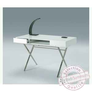 Les independants - bureau en mdf laque blanc X470LB