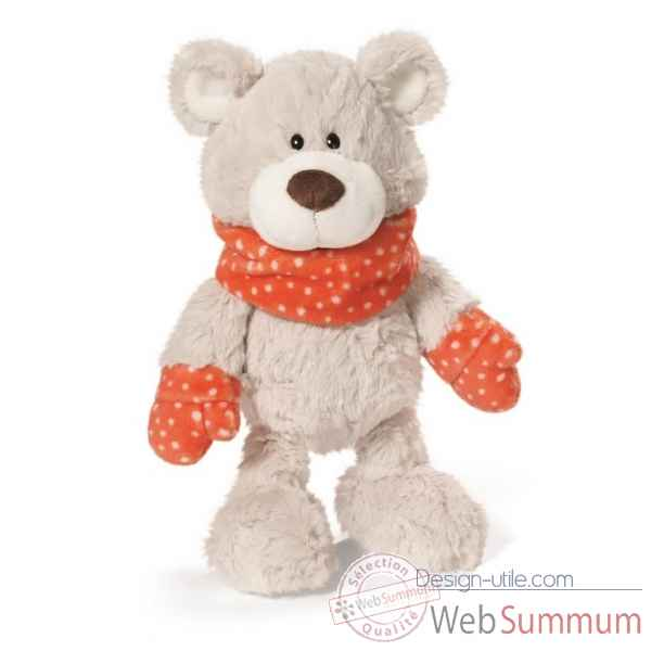 Peluche ours sir ourstur peluche 50cm Nici -NI39917