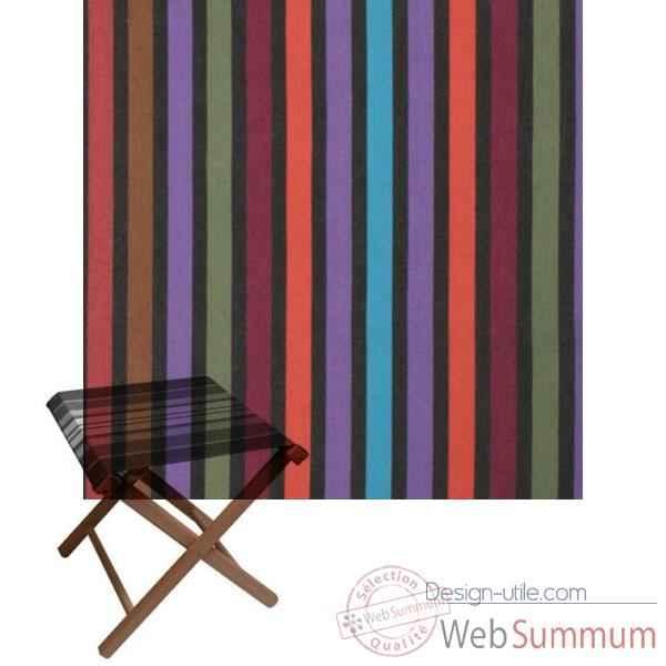tabouret repose pied pliant artiga sarrance coton de tabliers de cuisine artiga. Black Bedroom Furniture Sets. Home Design Ideas