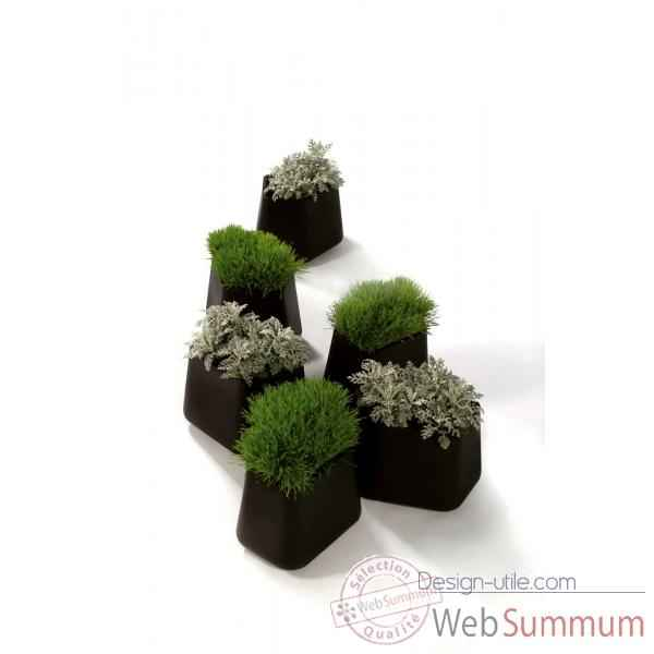 Pot rock garden modular small design alain gilles Qui est Paul Rock Garden Small