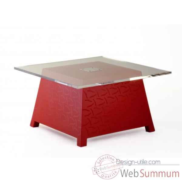 Table basse raffy m10 avec plateau design eric raffy Qui est Paul Raffy M10P